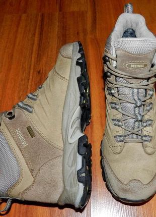 Meindl gore-tex® ! оригинальные, кожаные, невероятно крутые трекинговые ботинки