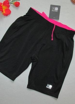Спортивные черные шорты karrimor run оригинал