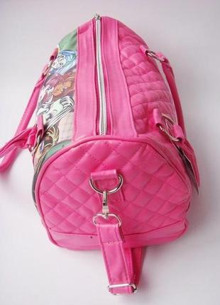 "Детская сумка monster high, сумка монстер хай, стильная детская сумка ""школа монстров""4"