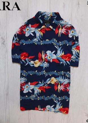Мужская рубашка zara - relaxed fit