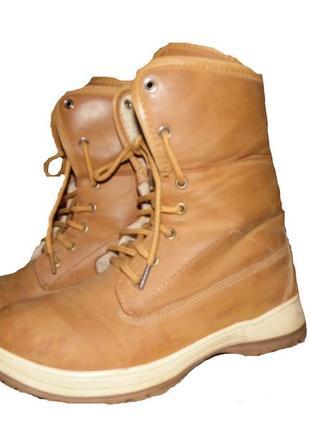 Зимние ботинки ,два стиля.