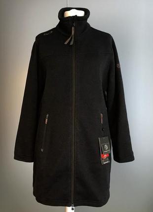 #все мерки в описании#. новая флисовая куртка жакет 🧣xl(50-52)🧣технология ветрозащиты