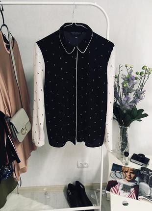 Блуза в принт від dorothy perkins🖤🖤🖤
