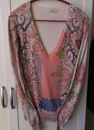 Шовковий светер etro milano