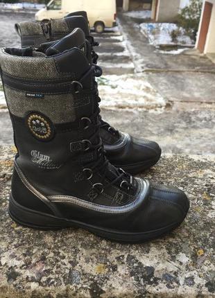 Оригинальные зимние ботинки geox gore tex