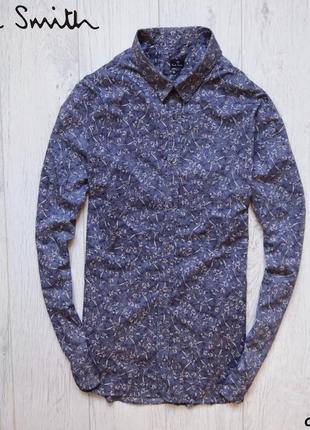 Мужская рубашка paul smith - в цветочный узор