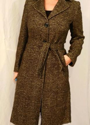2521/280 мохерово-шерстяное пальто martellini l