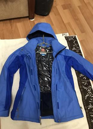 Лыжная курточка лыжный костюм пуховик куртка лыжная  columbia amni-heat