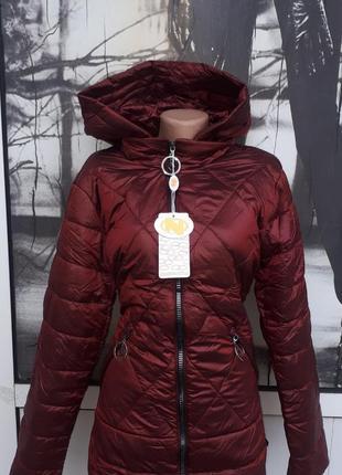 Весення молодежная женская приталенная курточка