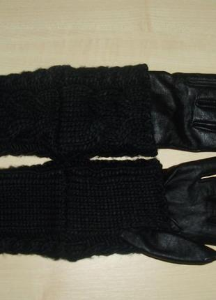 Avant- premiere m/l стильные кожаные перчатки