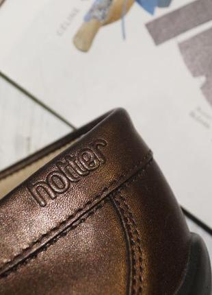 Hotter. англия. комфортные кожаные туфли, мокасины4