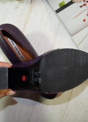 & other stories. роскошные кожаные туфли на массивном каблуке2