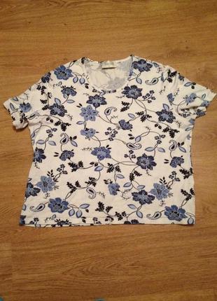 Стильная летняя футболка / 4 xl