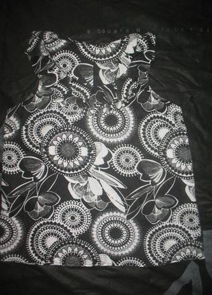 Легкая льняная рубашка/блуза