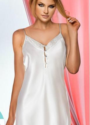-50% ночная сорочка на тонких бретелях пижама пеньюар, турция