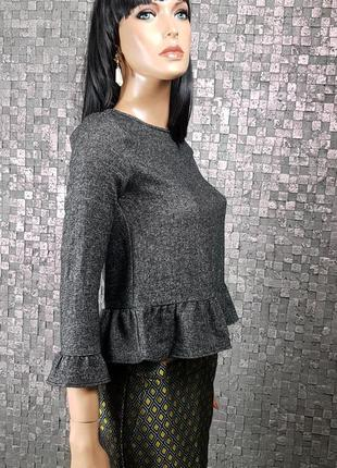 Красивая блузка с рюшем3