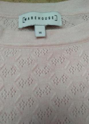 Warehouse кофта кофточка реглан свитер