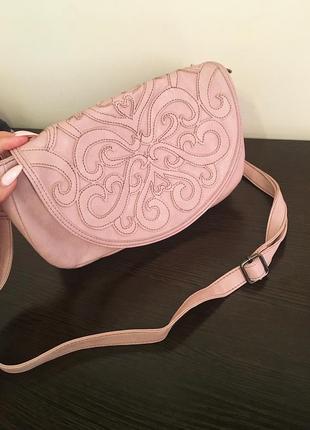 Розовая сумочка crazy line