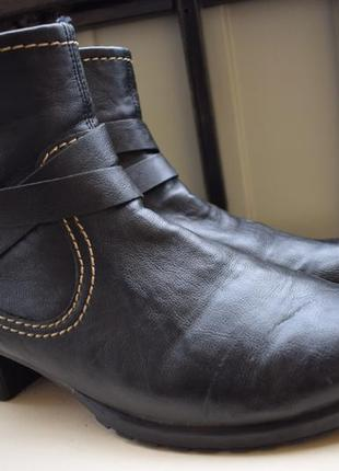 Удобнейшие ботинки ботильоны риекер rieker р.42 28 см германия утепленные