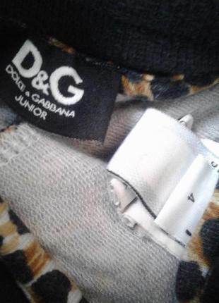 Dolce&gabbana италия брендовый оригинальный костюм девочке 4-6лет3