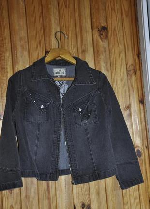 Джинсовая фирменная куртка . курточка джинс
