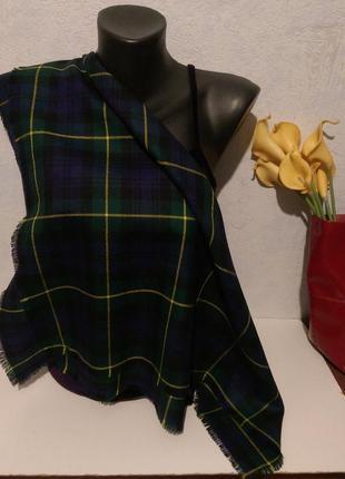 Натуральная шерсть,шейный платочек,68*68