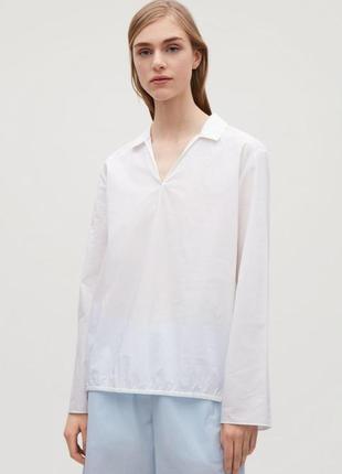 Блуза из 100% хлопка cos, xs, m, l размеры