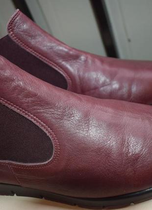 Мягенькие кожаные aerobics р.40 26 см челси  португалия handmade