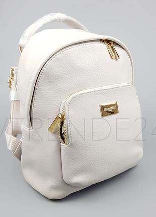 С нюансом! цена снижена!  #3340 l.grey david jones вместительный стильный рюкзак!