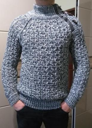 S мягкий мужской свитер eksibir black label