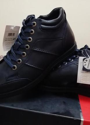 Чоловіче шкіряне взуття pierre cardin