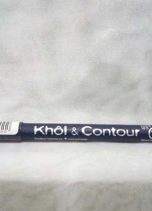 Bourjois 16h khol & contour 82bleu graphigue,карандаш для глаз