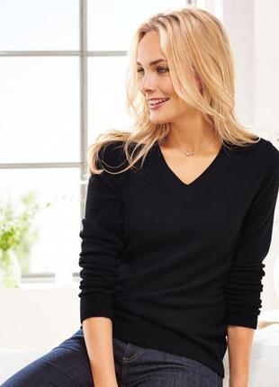 Элегантный кашемировый пуловер 30% кашемир, 20% шерсть,  от тсм tchibo (чибо), укр 46-50