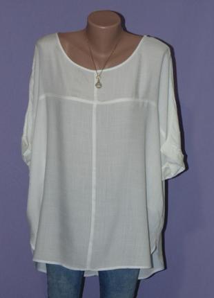 Белая легкая блузочка/размер л