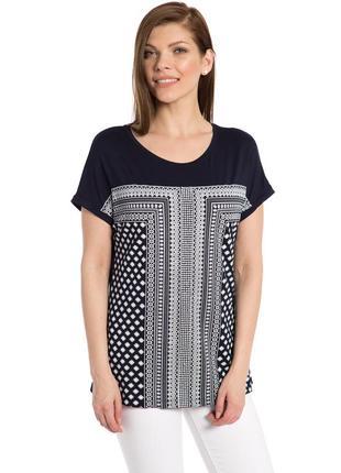 16-148 женская футболка свободного кроя lc waikiki