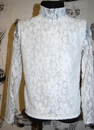 Водолазка (блузка) для школьницы