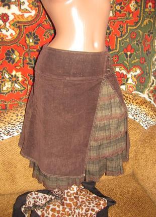 Красивая необычная юбка деми-зима