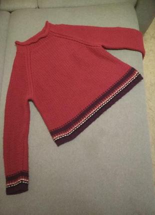 Красный свитер qed
