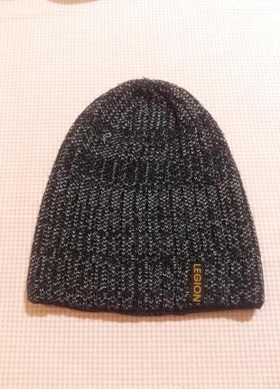 Теплая шапка legion c флисовой подкладкой