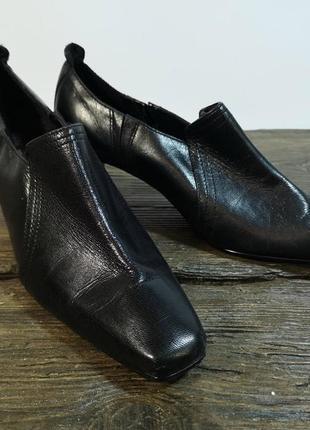 Туфли стильные marks&spencer, 36 (23.5 см), кожа, отл сост!
