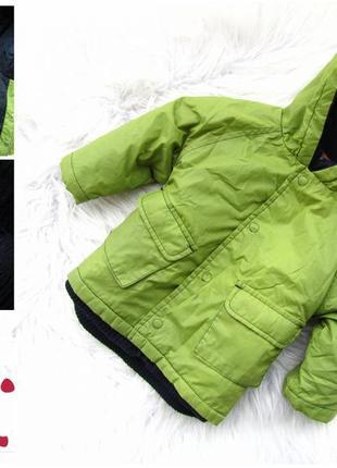 Стильная теплая куртка кофта трансформер парка с капюшоном dpam
