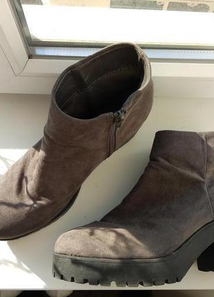 Ботинки new look! 42р!