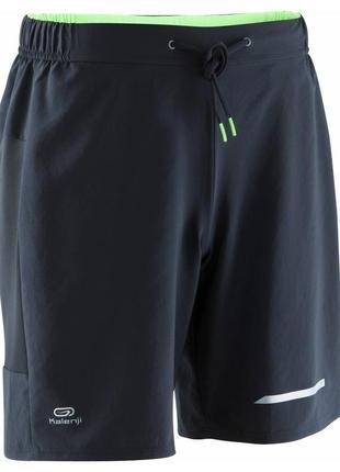 Легкие спортивные шорты kalenji run dry+