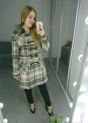 Демисезонное пальто дафлкот