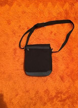 Рефлективная мужская сумочка через плечо