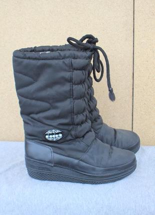 Зимние ботинки diadora италия 38р дутики