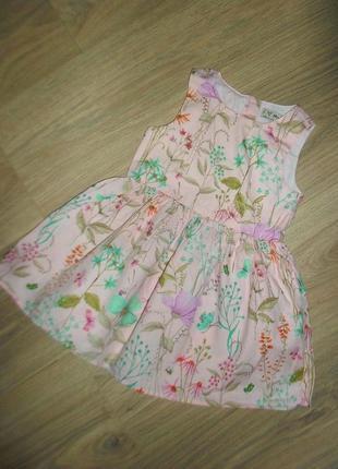Платье на 12-18мес