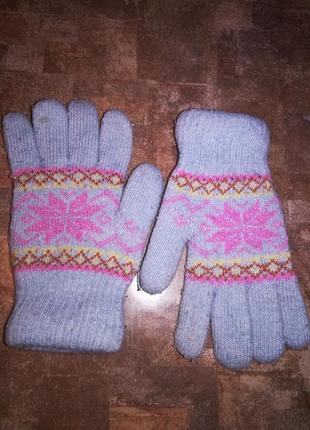 Варежки перчатки зимние