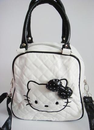 Детская сумка hello kitty. уценка1