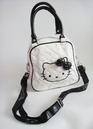 Детская сумка hello kitty. уценка4